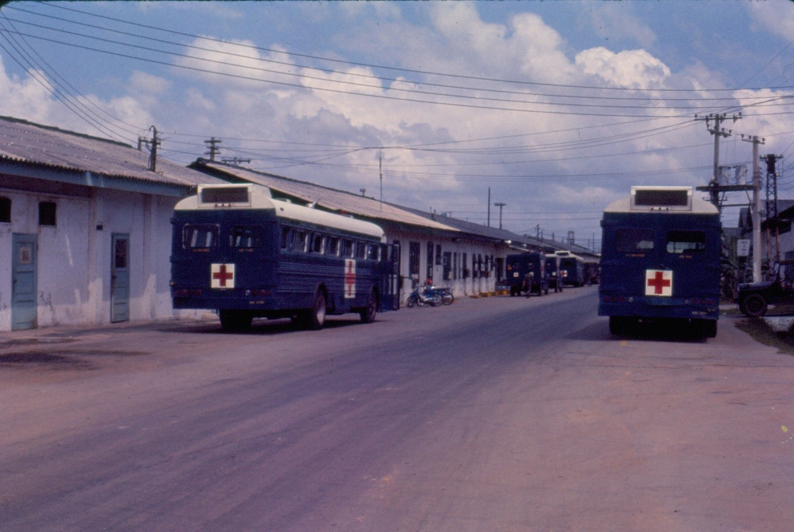 Buses for Wounded Soldiers